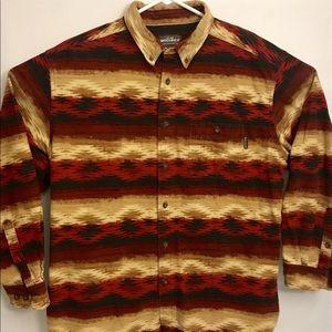 Woolrich Ruby Navajo Blanket Button Down Shirt XL